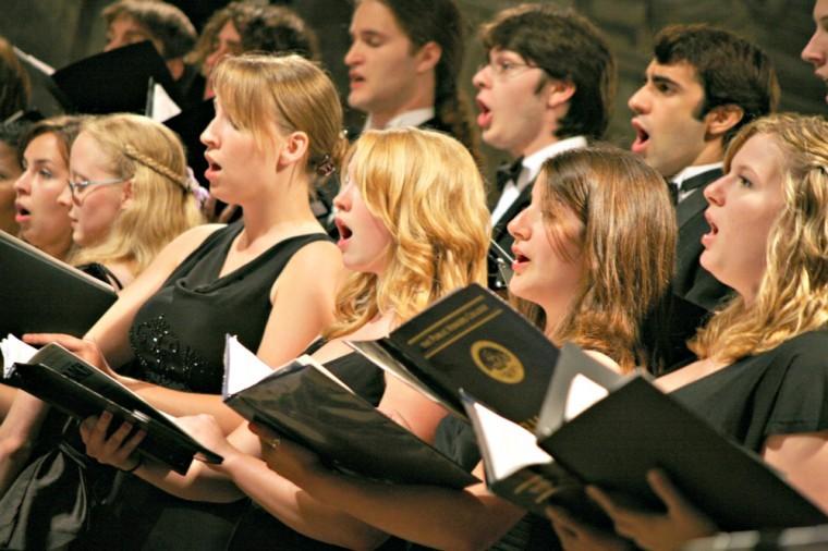 Choir Singing Messiah