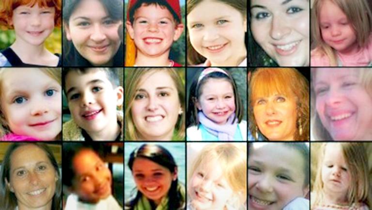 Victims of Sandy Hook Massacre
