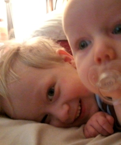 Liam and Xander