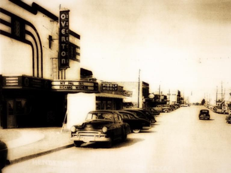 Overton Theater, 1953