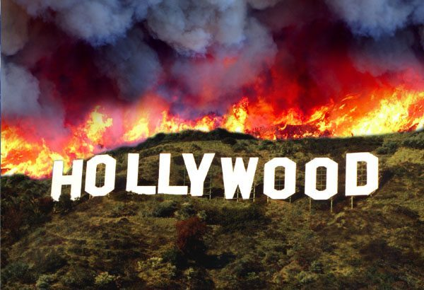 hollywood-sign-burns-down
