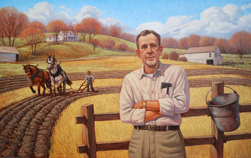 Wendell Berry By Greg Newbold